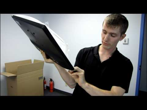 Acer S231HL 23IN Widescreen LED Backlit LCD Monitor Black Unboxing & First Look Linus Tech Tips