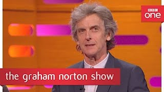 Programme website: http://bbc.in/2pi4nbz Peter Capaldi talks about his reasons for leaving Doctor Who.