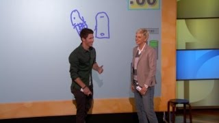 Pictionary with Jane Lynch and the Jonas Brothers!