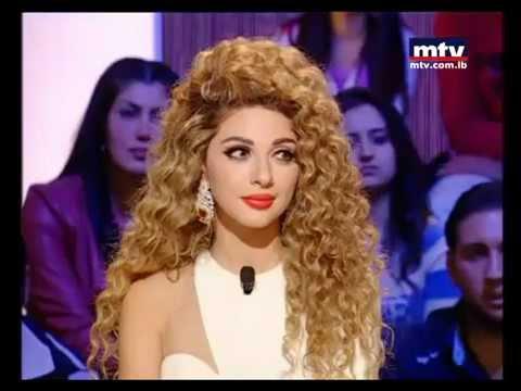Myriam Fares in Talk Of The Town - ميريام فارس في حديث البلد