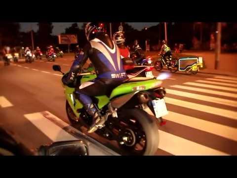 Lodzki Biker BOYZ In Da Action :-)