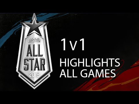 All Star 2018 1v1 Highlights ALL GAMES Full Tournament + Winners Interview