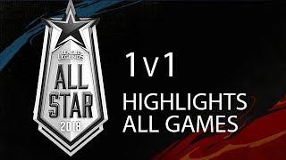 Video All Star 2018 1v1 Highlights ALL GAMES Full Tournament + Winners Interview MP3, 3GP, MP4, WEBM, AVI, FLV Agustus 2019