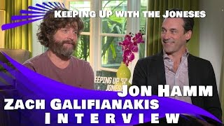 Nonton Zach Galifianakis & Jon Hamm Interview  - Keeping Up with the Joneses (2016) Film Subtitle Indonesia Streaming Movie Download