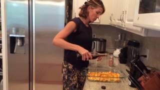 Roasted Maple-Sage Butternut Squash (Gluten-free, Dairy-free, Grain-free, Paleo)
