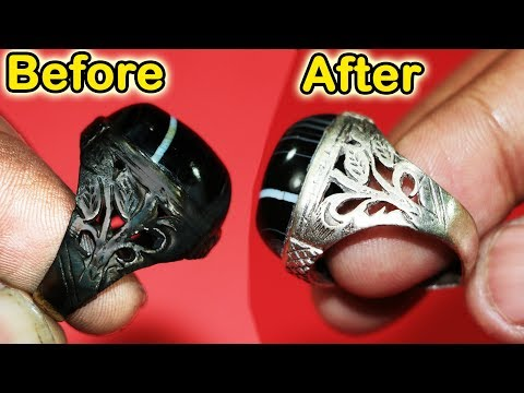 How To Clean White Gold Diamond Ring