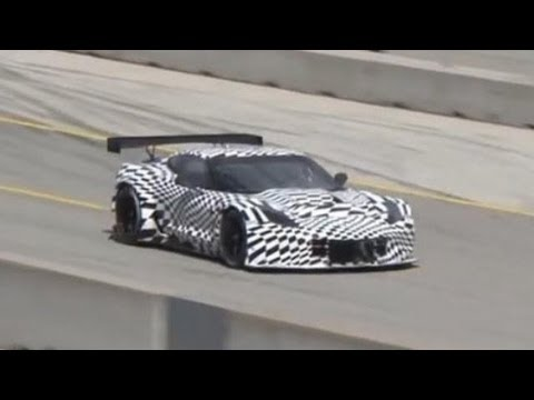 Chevrolet Corvette C7.R Prototype At Laguna Seca