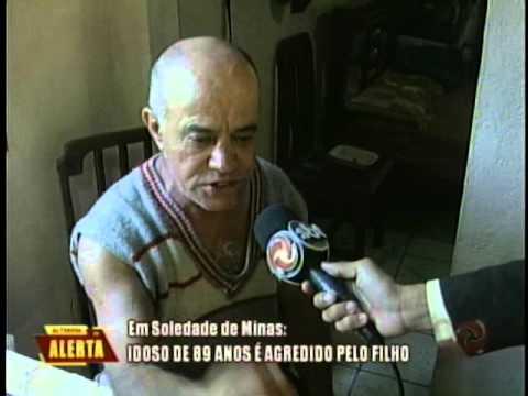 Alterosa em Alerta: Idoso é agredido pelo filho em Soledade de Minas
