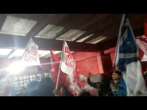 Soy del rojo hasta morir previa de la hinchada vs Lanús - La Barra del Rojo - Independiente