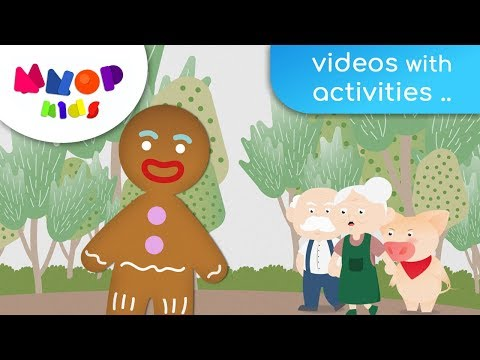 The Gingerbread Man - Fairy Tales and Bedtime Stories for Children | MNOP Kids