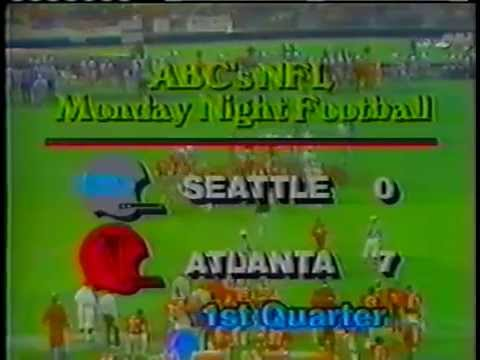 Seahawks vs Falcons 1979 1st Half Wk 9