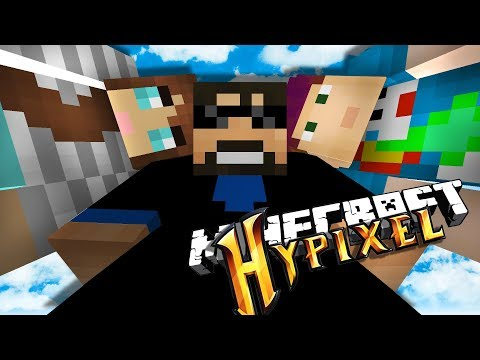 PLAYING DIFFERENT MINECRAFT MINI-GAMES ON HYPIXEL AGAIN CUZ IT'S NEAT (видео)