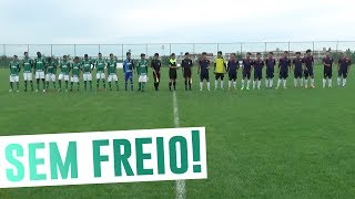Na terceira rodada da Future Cup, na China, o Sub-16 do Palmeiras venceu o Shengle Mongolian Sheep por 7 a 0.