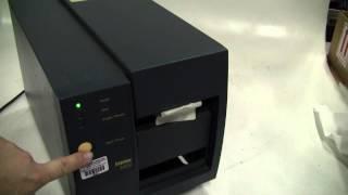 Intermec Model 3400 Label Printer