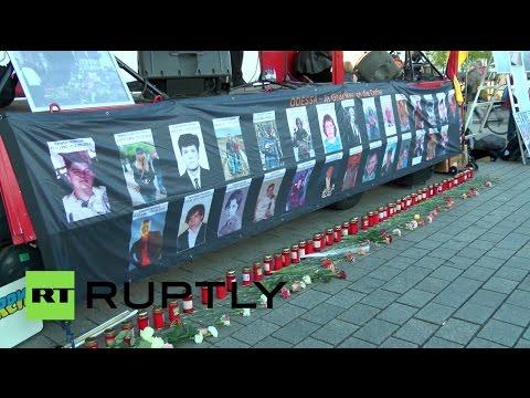 , title : 'В Берлине прошел митинг-концерт в память о жертвах трагедии в Одессе'