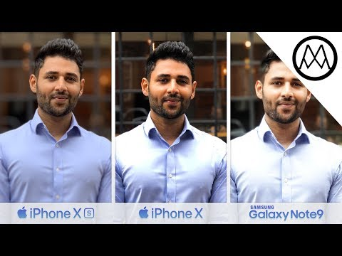 Video iPhone XS vs iPhone X vs Samsung Note 9 Camera TEST download in MP3, 3GP, MP4, WEBM, AVI, FLV January 2017