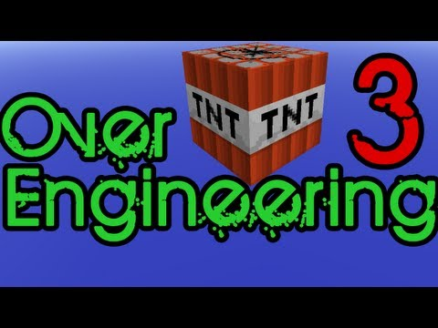 Minecraft Over-Engineering Ep3: TNT Cannons
