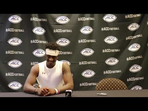 Football: A. Brown Postgame Press Conference (Sept. 13, 2018)