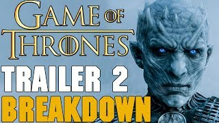 ▬▬ Video Description ▬▬ HBO released the second Game of Thrones Season 7 Trailer. It is HYPE. Cleganebowl possibility, fellowship or winter and a return of B...
