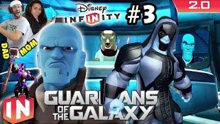 Dad & Mom play w/ RONAN & YONDU! Guardians of the Galaxy Play Set - Part 3: Disney Infinity 2.0