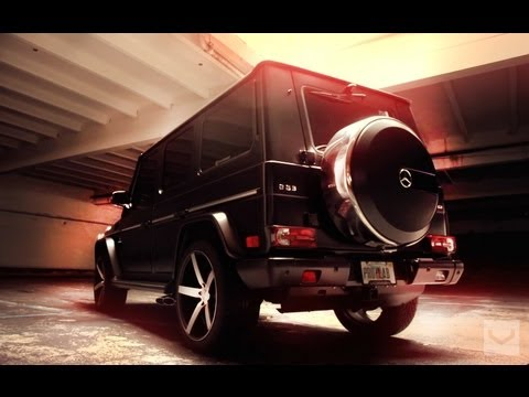 Mercedes G63 Wagon on 22'' Vossen CV3 Concave Wheels | Rims