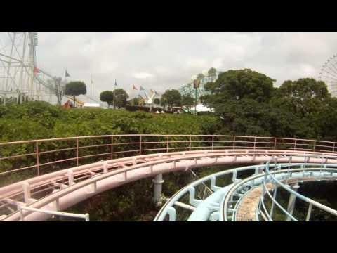 Milky Way Stand Up Roller Coaster POV Togo Mitsui Greenland Japan HD 1080
