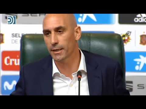 Rubiales destituye a Julen Lopetegui tras su fichaje por el Real Madrid
