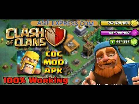 DOWNLOAD A CLASH OF CLANS 9.105.9 VERSION MOD APK (ANDROID) (no root)