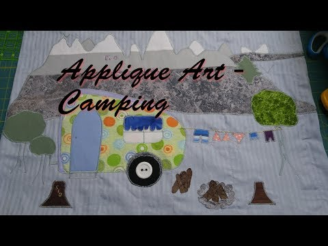 Applique Art - Camping