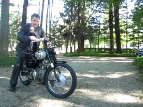 1965 Benelli Barracuda 250 CC Motorcycle Italian Cruiser
