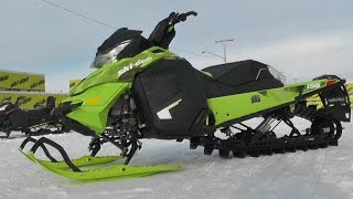 9. 156 Inch Freeride Skidoo 2015 Pinespsm Demo Project!