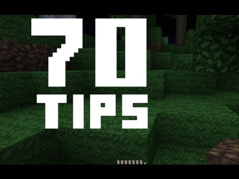How to get better at minecraft! 70 tips!