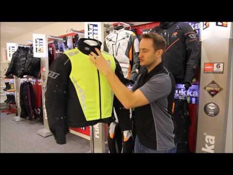 RUKKA High Vis Motorcycle Vest UK Review - Full HD