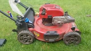 2. Toro AWD 22 in. Lawnmower