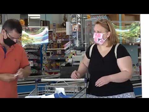 Υποχρεωτική η μάσκα στα σουπερμάρκετ