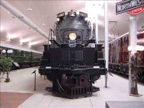 4017 - This is in the National train museum in Green Bay, Wisconsin, only a slide show, but maybe in the future i'll go back and take video! Taken with a Sony Cyber...