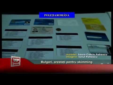 Bulgari arestati pentru skimming