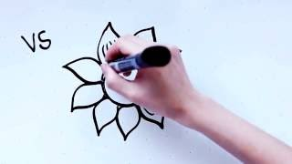 16: Kids' Tutorial - How to Draw a Flower Sunflower (A) | Simple, Easy & Fun | Vivi Santoso