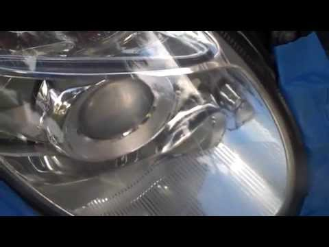 MERCEDES BENZ E CLASS 500 HEADLAMP RESTORATION REPAIR FAIRFAX CALL (866) 636-4451
