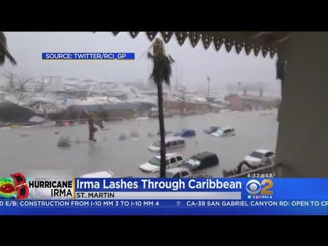 Caribbean Hit By Hurricane Irma