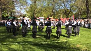 Peine Germany  City pictures : Balagan Pipe Band, Grade 2, Medley, Pipe Band Competition Peine, Germany, 2 May 2015
