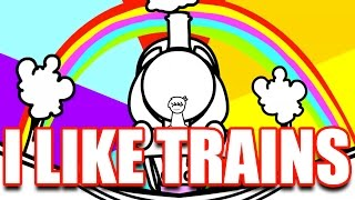 I LIKE TRAINS (asdfmovie song) - YouTube