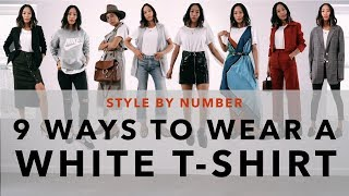 Video 9 Ways To Wear A White T-Shirt - Style By Number | Aimee Song MP3, 3GP, MP4, WEBM, AVI, FLV Agustus 2018