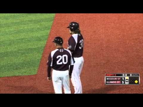 illinois - 2013 MVC Baseball Championship Highlights: Illinois State 6, Missouri State 1.