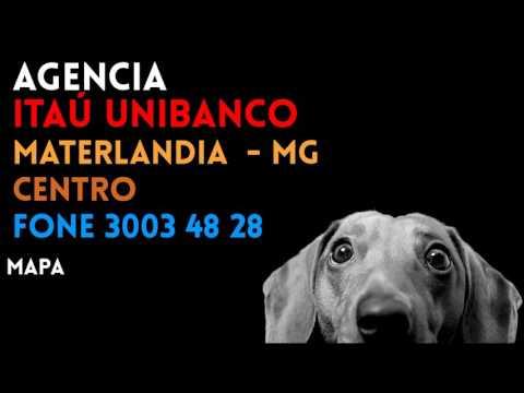 ✔ Agência ITAÚ UNIBANCO em MATERLANDIA/MG CENTRO - Contato e endereço