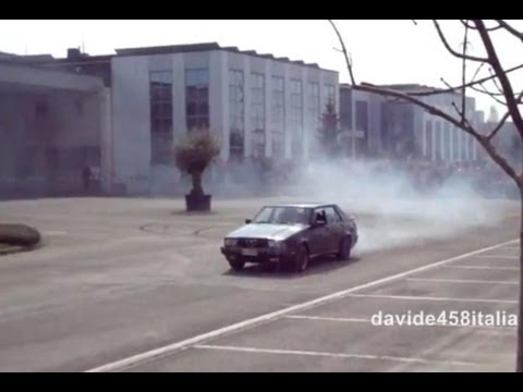 drift disumani con due alfa 75