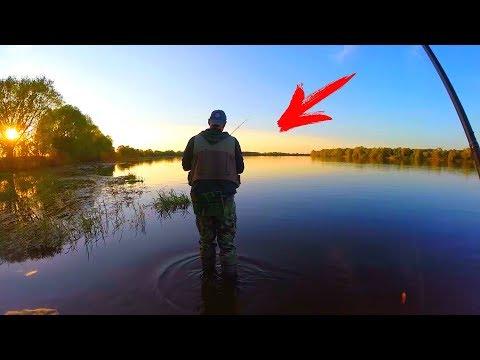 рыбалка на реке полевая