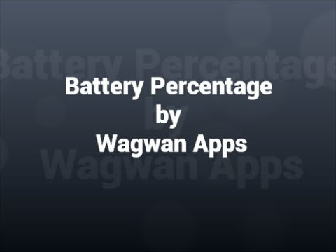 Video of Battery Percentage