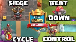 Video 4 DECK UNTUK CROWN CHAMPIONSHIP CHALLENGE, GOOD LUCK!!! - Clash Royale Indonesia MP3, 3GP, MP4, WEBM, AVI, FLV November 2017