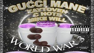 Gucci Mane - Servin Lean (ft. PeeWee) [World War 3: Lean]